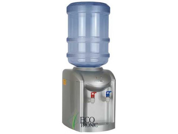 Кулер для воды настольный с электронным охлаждением Ecotronic K1-TE silver
