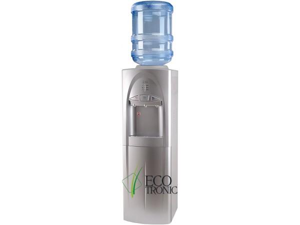 Кулер для воды напольный с холодильником Ecotronic C4-LF silver