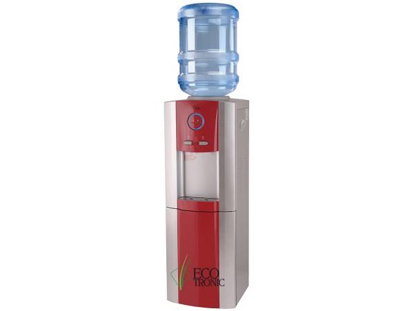 Кулер для воды напольный с компрессорным охлаждением Ecotronic G8-LS Red