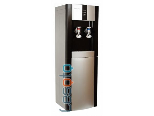 Напольный кулер для воды без охлаждения LESOTO 16 LK/E black-silver