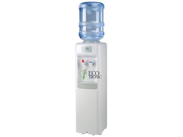 Кулер для воды напольный с компрессорным охлаждением Ecotronic R1-L