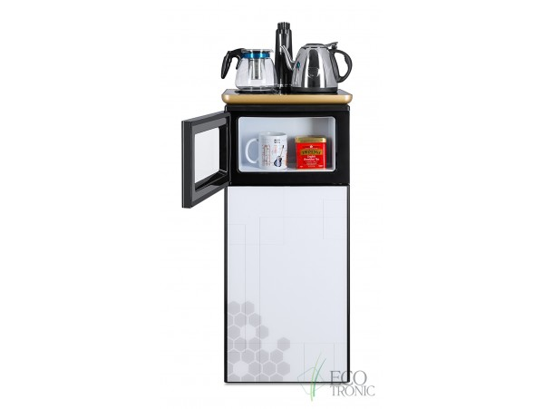Кулер напольный с электронным охлаждением и чайным столиком Тиабар Ecotronic TB1-LE